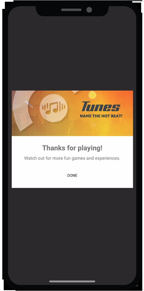 Tunes-Thanksforplaying
